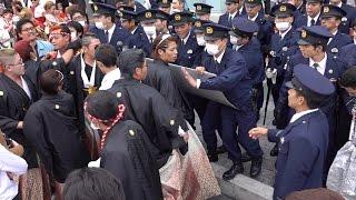 【高画質】2016_荒れた?沖縄の成人式#1 [毎度警官ともみくちゃ。]