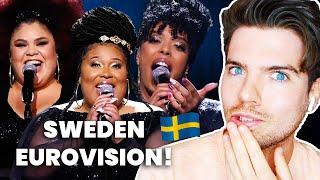Reaction: Sweden Eurovision 2020 | The Mamas - Move
