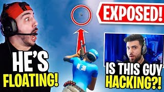 We EXPOSED A HACKER IN OUR FORTNITE GAME! FT. SypherPK