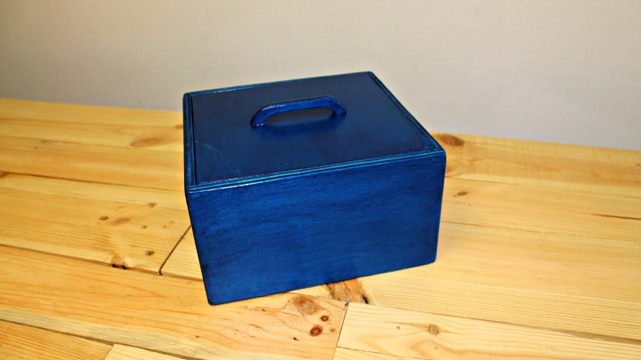 Costruire una scatola in legno fai da te youtube for Youtube legno fai da te