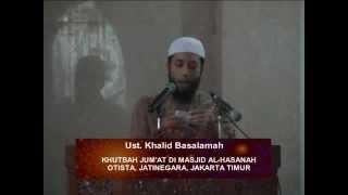 Sejenak Bersama Al-Qur'an - Ustadz Dr. Khalid Basalamah, M.A