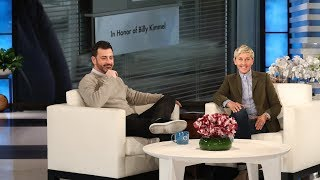Ellen's friend Jimmy Kimmel credits the staff at Children's Hospital of Los Angeles with saving his son Billy's life when he was a newborn. To honor him, Ellen surprised Jimmy with a very special gift at the hospital.