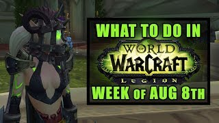 Daddy Cage Helm, Kil'Jaeden & Gravity Laps | What's New in WoW: Week of August 8th, 2017