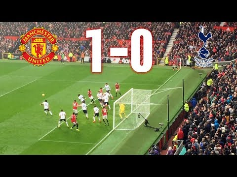 Manchester United vs Tottenham, 1-0, Premier League, 28.10.17, Goal and Highlights