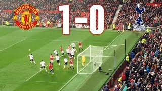 Manchester United vs Tottenham 1-0 Premier League 281017 Goal and Highlights