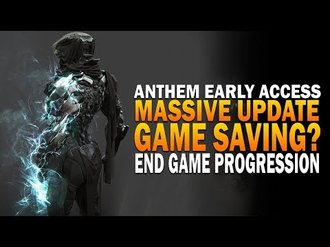 New MASSIVE DAY ONE Update, Game Saving? - Anthem Early Access Hard Storm Gameplay