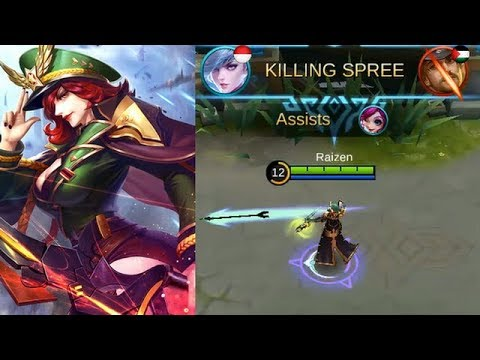 Miya Starlight Skin Captain Thorn (New Skill Effect) Full Gameplay - Mobile Legends
