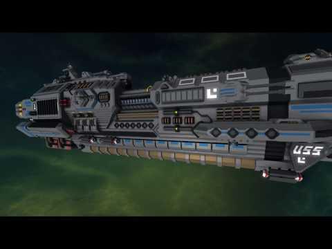 StarMade Ships 46 - Athena Class Cruiser