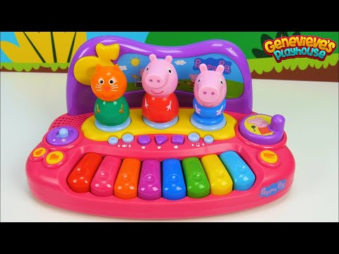 Learn Colors with Peppa Pig and Pororo Musical Toys for Kids!