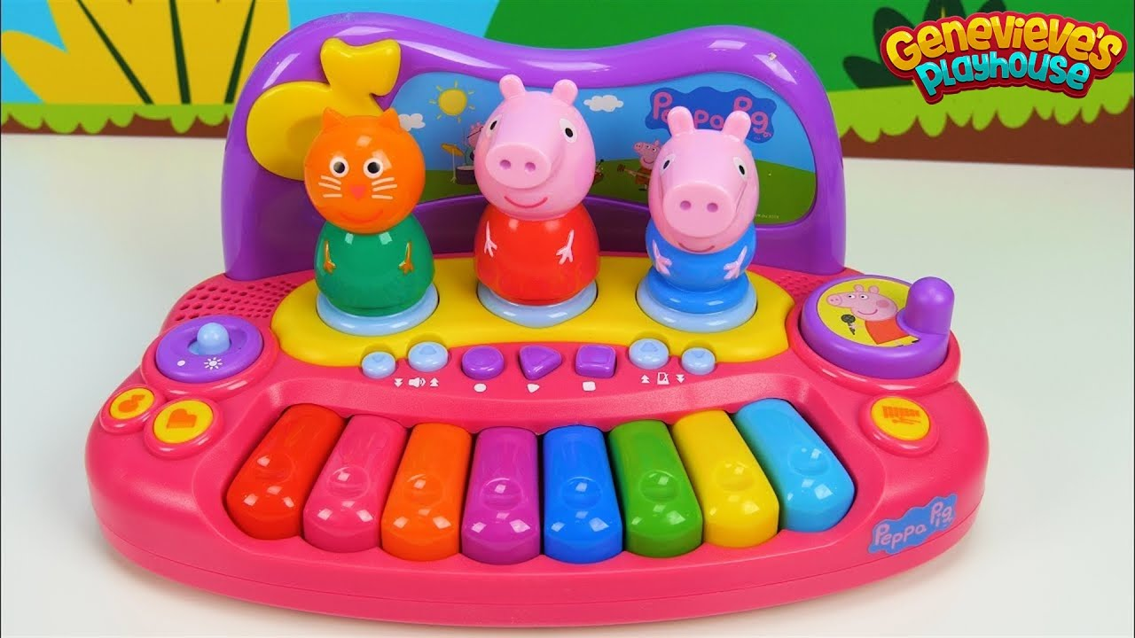 Learn Colors With Peppa Pig And Pororo Musical Toys For
