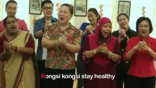 Hotlink 恭喜發財: Grannies Sing Ohhsome Hotlink CNY Song!