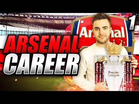 FIFA 18 | ARSENAL CAREER MODE EP1 - Wenger Retires!!