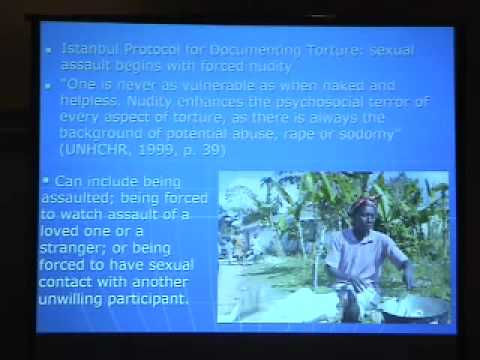 Haiti Lancet Report 2006 / About Human Rights Abuses (1hr)