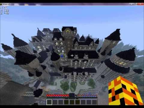 seconda mappa di mapsnico castello dracula minecraft