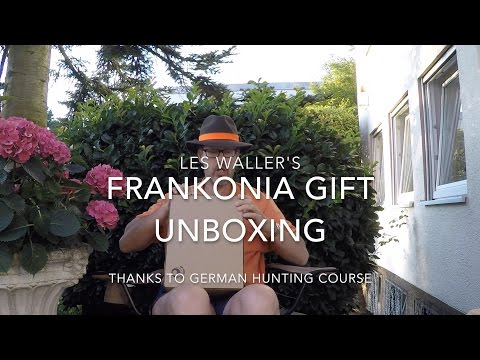 Frankonia Unboxing And New Hunting Hat