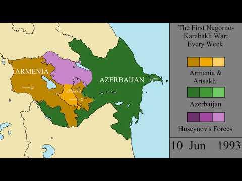 The First Nagorno-Karabakh War: Every Week