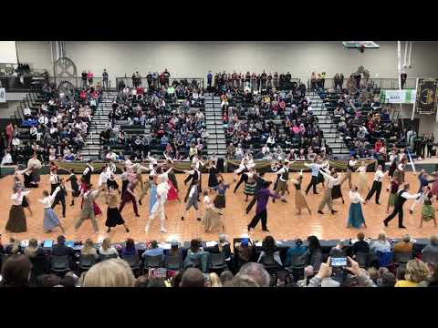 "Extreme Ballroom ""From Now On""  at the Provo High School Dancesport Festival  2019"