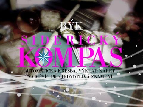 Sidericky Kompas Byk Kveten 2016 Mesicni Automaticka Kresba A