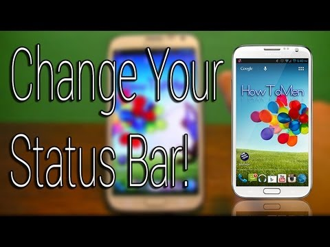 Customize your Android Status Bar! No Root Needed!