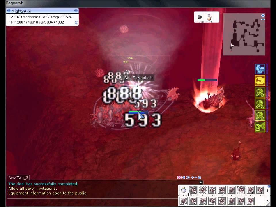 Maachan's axe mechanic guide novaro: wiki.