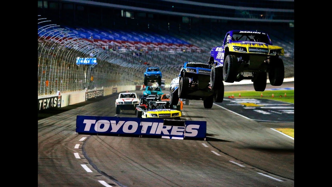 2017 Texas - Stadium SUPER Trucks - CBS Sports Network