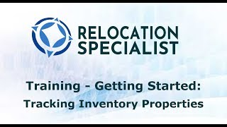 Training Videos - Tracking Inventory Properties