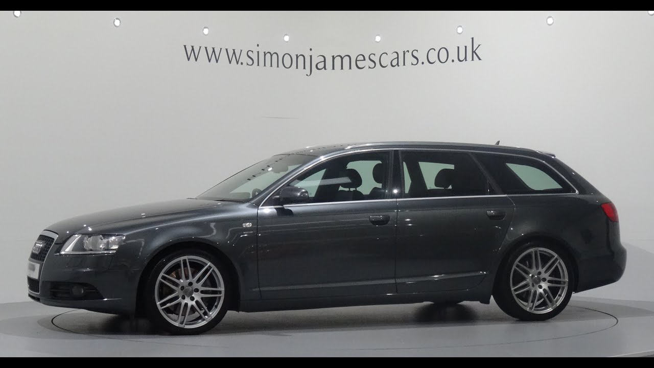 Audi A6 3 0 Tdi S Line Quattro Avant Le Mans Edition Finished In Daytona Grey Youtube