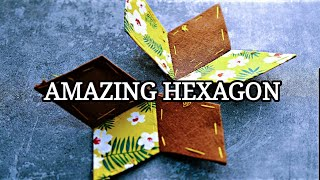 Amazing HEXAGON /My New Patchwork Design /  patchwork quilt idea / パッチワークキルト