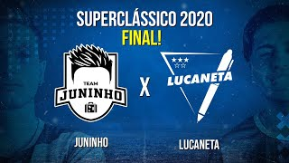 AO VIVO: A GRANDE FINAL DO SUPERCLÁSSICO! JUNINHO X LUCANETA