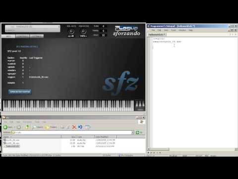 SFZ Tutorial Part 1: Hello World!