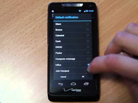 Motorola razr v3r ringtones youtube.