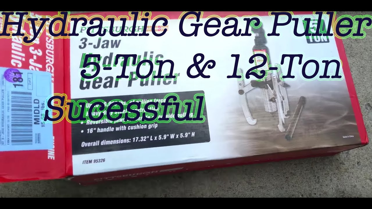 Gear Puller Harbor Freight : Harbor freight hydraulic puller review