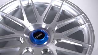 TSW Alloy Wheels - Hockenheim-T in Silver w/ Brushed Silver Face