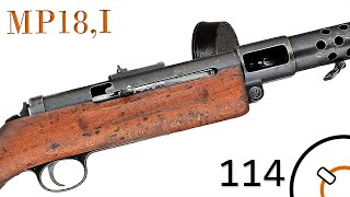Small Arms of WWI Primer 114: German Maschinen Pistole 18, I - MP18