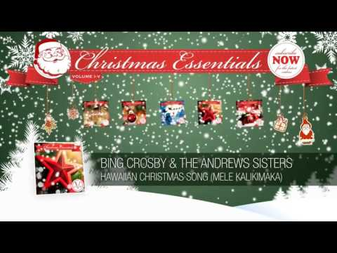 Bing Crosby & The Andrews Sisters - Hawaiian Christmas Song mp3