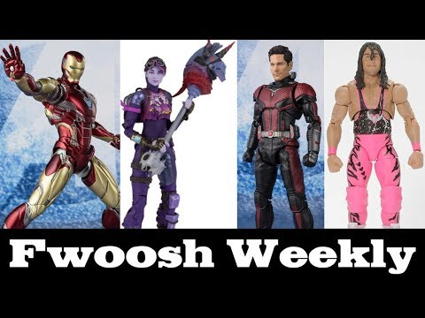 Weekly! Ep106 SHF Avengers: Endgame Rundown, Fortnite, WWE, Iron Spider, Marvel Legends And More!