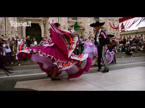 Flash Mob Folclor y Música Mexicana, Italia