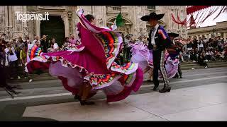 Flash Mob Folclor y Musica Mexicana, Italia