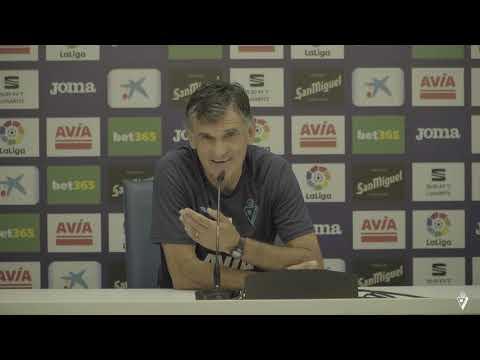 Rueda De Prensa De Mendilibar Previa Al Atlético De Madrid - Eibar 2019/20