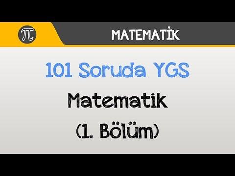 101 Soruda YGS Matematik (1. Bölüm) | Matematik | Hocalara Geldik