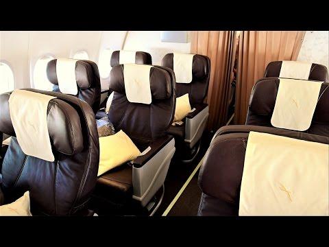 Silkair Business Class 737 MI751 Phuket to Singapore