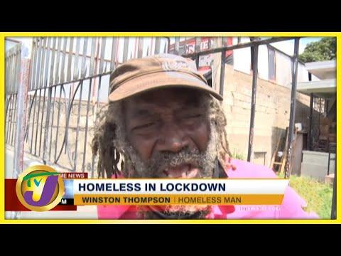 Feeding the Homeless During Lockdown | TVJ News - August 23 2021
