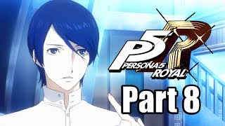 Persona 5 Royal (2020) Gameplay Walkthrough Part 8 - Yusuke the Passionate Artist [PS4 Pro]