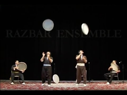 Razbar Ensemble: Percussion Medley Daf دف