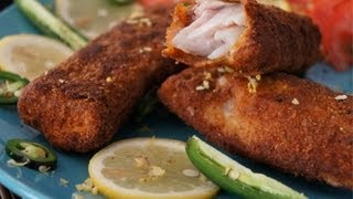 Ethiopian Food -  Fried Fish n Mitmita recipe -  Breaded Nile perch Asa Injera Kitfo Doro Berbere