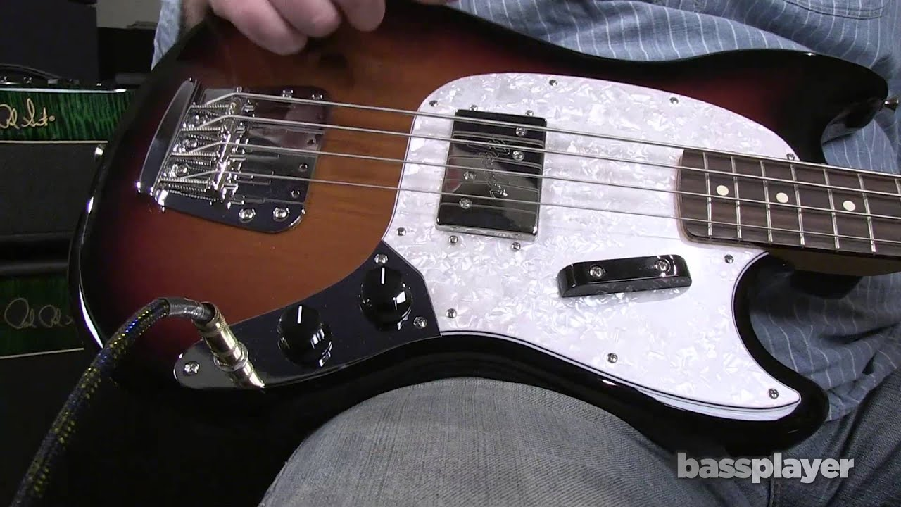 PREVIEW: Fender Pawn Shop Mustang Bass - YouTube