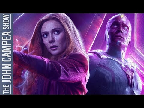 Vision And Scarlet Witch Hires Captain Marvel Writer As Showrunner - The John Campea Show