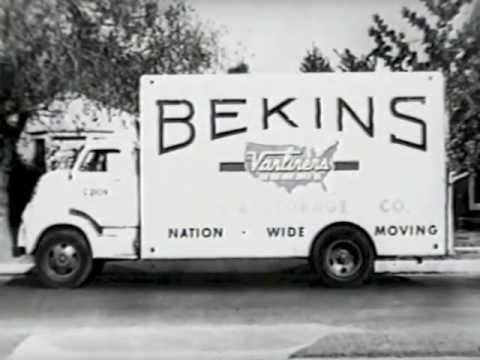 Bekins Storage Tv Commercial 1956