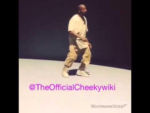 Kanye West Dancing