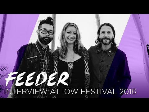 Feeder talk about the end of their hiatus | IOW Fest 2016